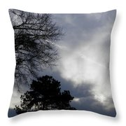 Interesting Georgia Stormy Morning Throw Pillow