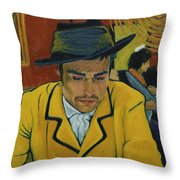 Interesting Man Throw Pillow