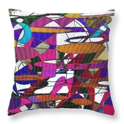 Intergalatic Throw Pillow