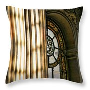 Interior Architecture Versailles Chateau France  Throw Pillow