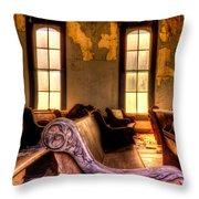 Interior Old Church Throw Pillow