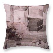 Interior Space Throw Pillow