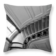 Interior Stairs Architecture  Throw Pillow