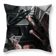Interior Truck Throw Pillow