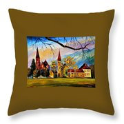 Interlaken Switzerland Throw Pillow
