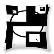 Intermingled 2 Throw Pillow