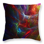 Internal Demons Throw Pillow