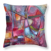 Internal Dynamics # 8 Throw Pillow
