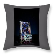 International Car Forest Of The Last Church 3 Throw Pillow by James Sage