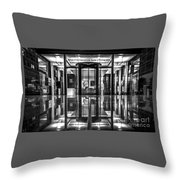 International Center Of Photography, Nyc Throw Pillow