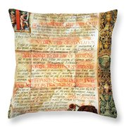 International Code Of Medical Ethics Throw Pillow by Science Source