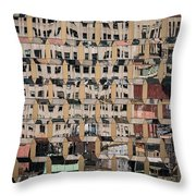 International Gem Tower - 50 W 47th St Building In Nyc Throw Pillow