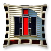 International Harvester Logo Throw Pillow