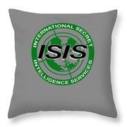 International Secret Intelligence Servrice Throw Pillow