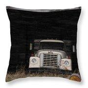 International Truck Throw Pillow