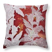 Interpenetrating Images Throw Pillow