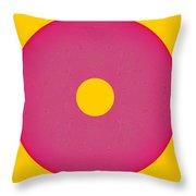 Interplay Interference Wheel - Beauteysphere Opus12 Throw Pillow