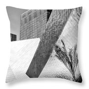 Intersection 1 Bw Las Vegas Throw Pillow