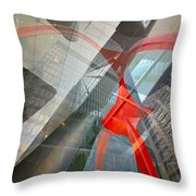 Intersection 11 Throw Pillow