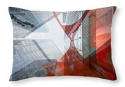 Intersection 12 Throw Pillow