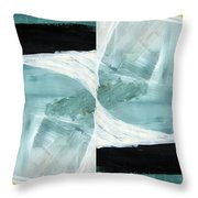 Intersection 37 Part 2- Art By Linda Woods Throw Pillow