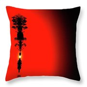 Interstellar Overdrive Four  Throw Pillow
