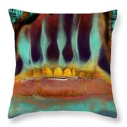 Interstice Throw Pillow