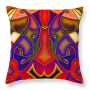 Intertwined Lifestreets Throw Pillow