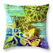 Intertwining Throw Pillow