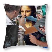 Interventive Conservation Throw Pillow