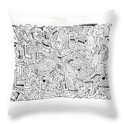 Intervolve Throw Pillow