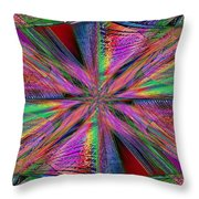 Interwoven 2 Throw Pillow