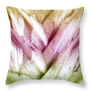 Interwoven Hues Throw Pillow