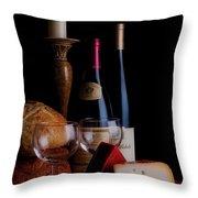 Intimate Evening Throw Pillow