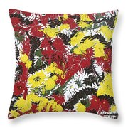 Intimidation Of Energy - V1cm62 Throw Pillow