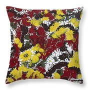 Intimidation Of Energy - V1lle30 Throw Pillow