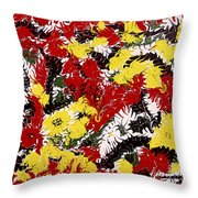Intimidation Of Energy - V1vhkf100 Throw Pillow