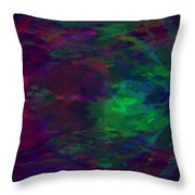 Into A Cave Of Dreams Throw Pillow