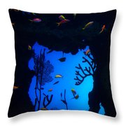 Into Another World Throw Pillow