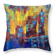 Into Cleveland Throw Pillow