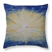 Into Dawn Throw Pillow