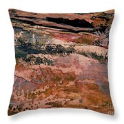 Into Fantasy Landscapes Throw Pillow