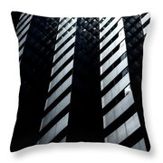 Into Light Throw Pillow
