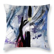 Into That Space Throw Pillow