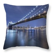 Into The Arms Of The Night Throw Pillow