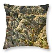 Into The Badlands South Dakota #3 Throw Pillow