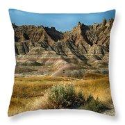 Into The Badlands South Dakota Throw Pillow
