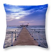 Into The Deep Water Throw Pillow