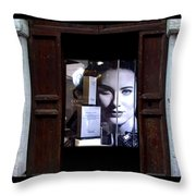 Into The Doorway Throw Pillow