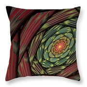 Into The Fantasy Tunnel Throw Pillow